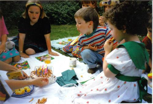 Sean's third birthday, 28 July 1994